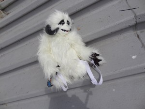 Comic-Con - stuffed wampa