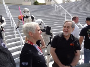 Comic-Con- fans and troopers