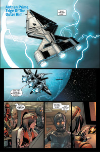 Darth vader #8 - space cruisers