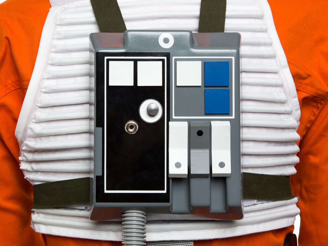 Rebel flight suit - chest box