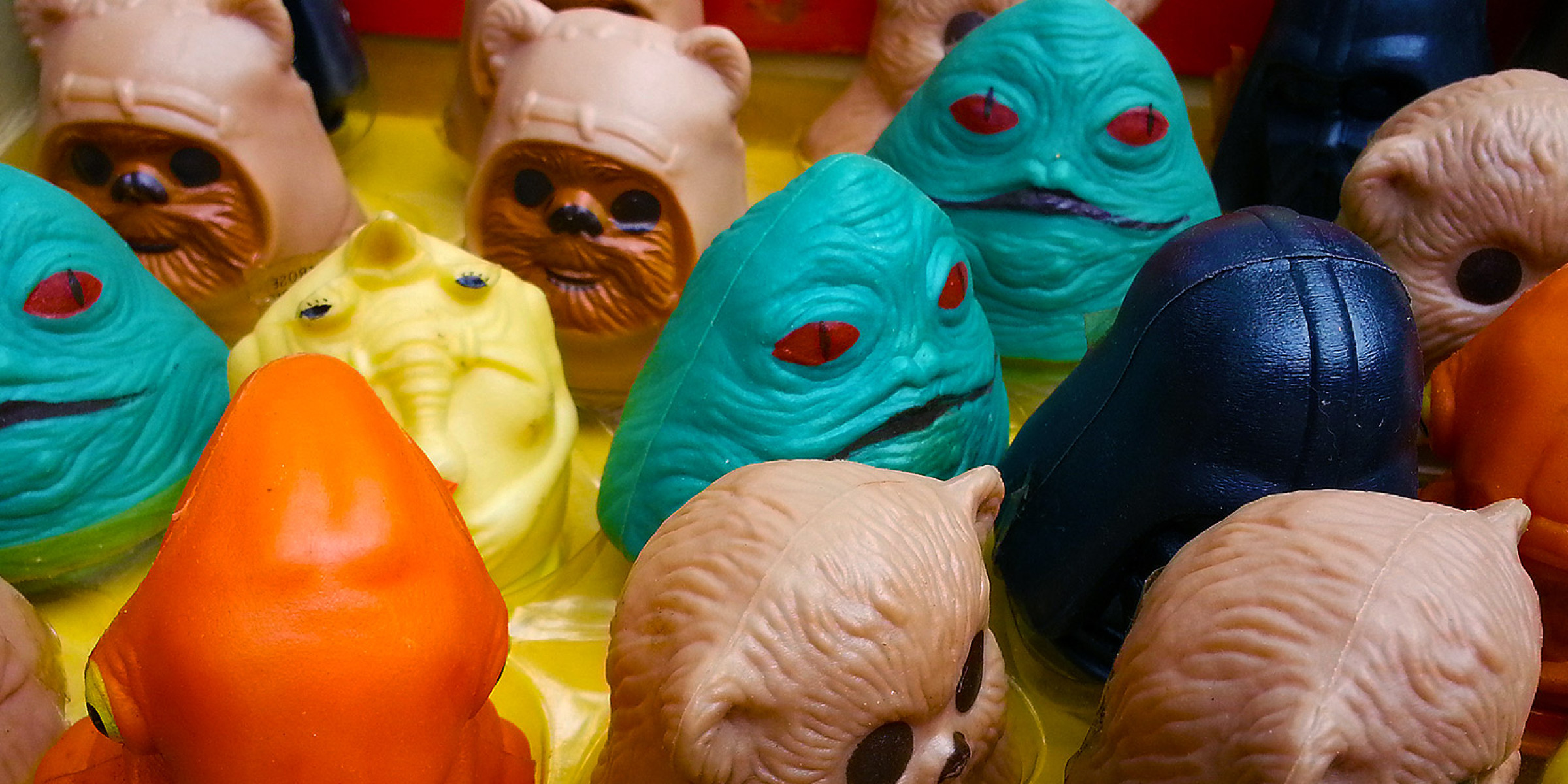 Return of the Jedi candy heads