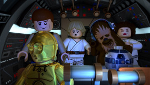LEGO Star Wars: The New Yoda Chronicles - Han, Luke, Chewbacca, C-3PO, and R2-D2