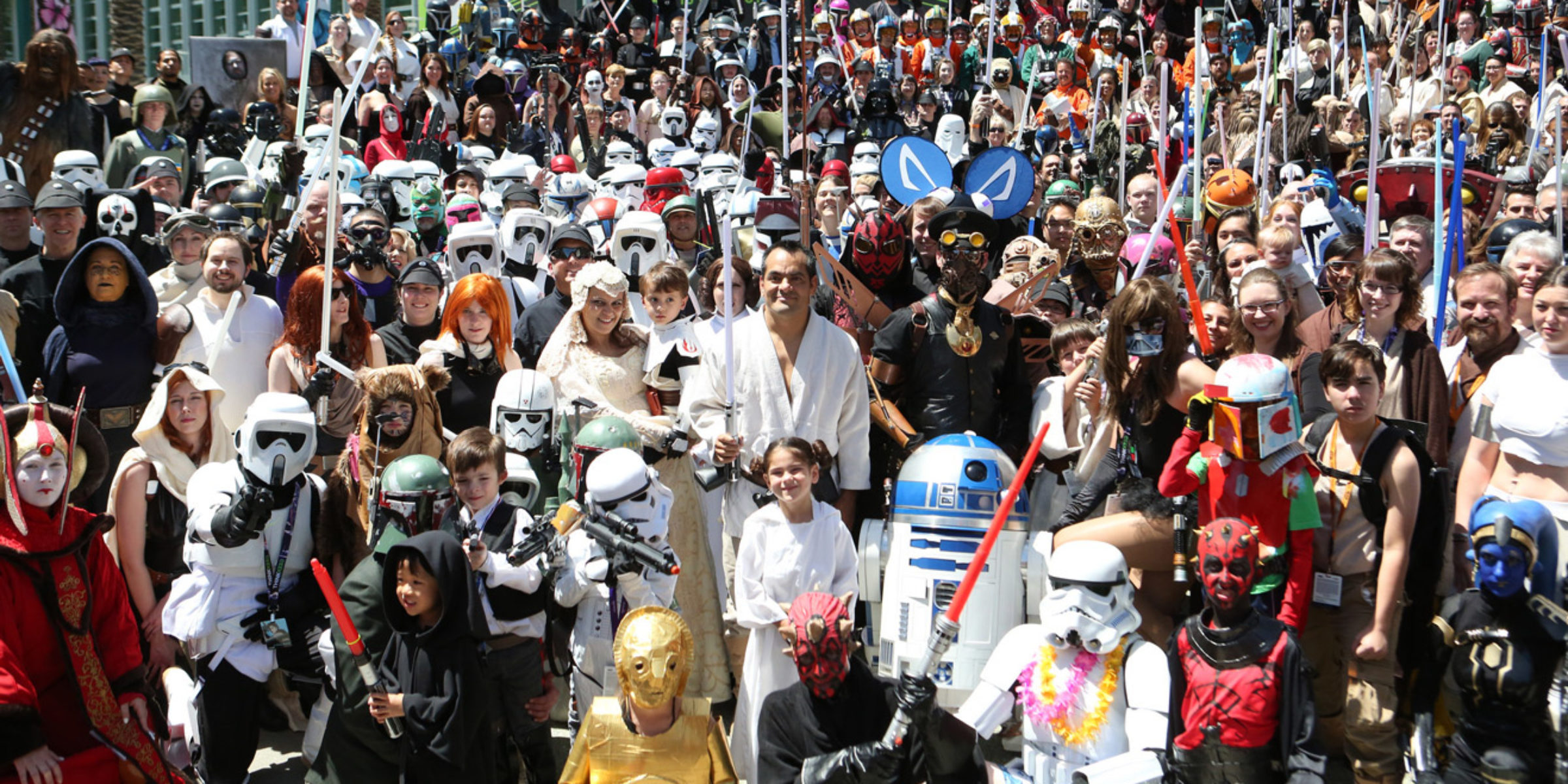 star wars celebration cosplayers