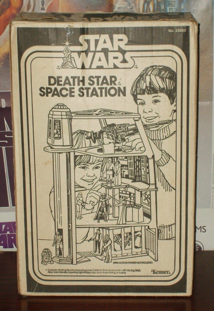 Kenner Death Star playset- back of box