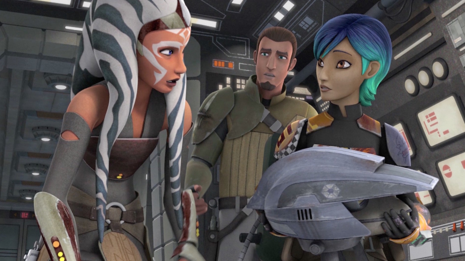 Star Wars Rebels Season Two screenshot
