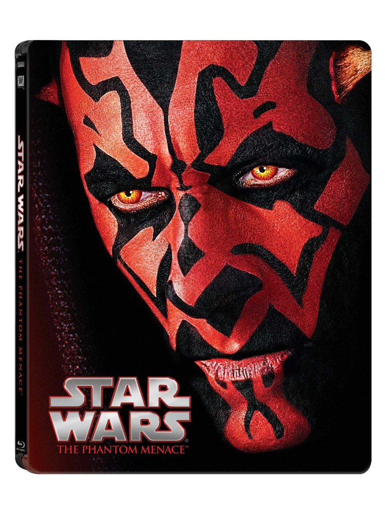 Star Wars Blue-ray - Darth Maul cover