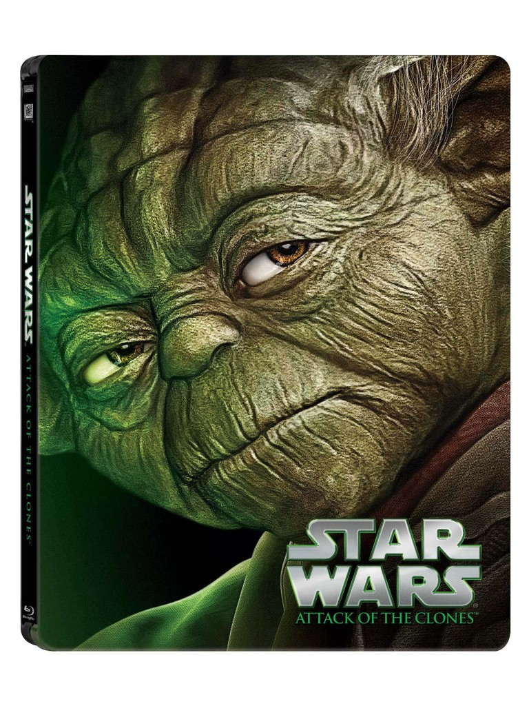 Star Wars Blue-ray - Yoda cover