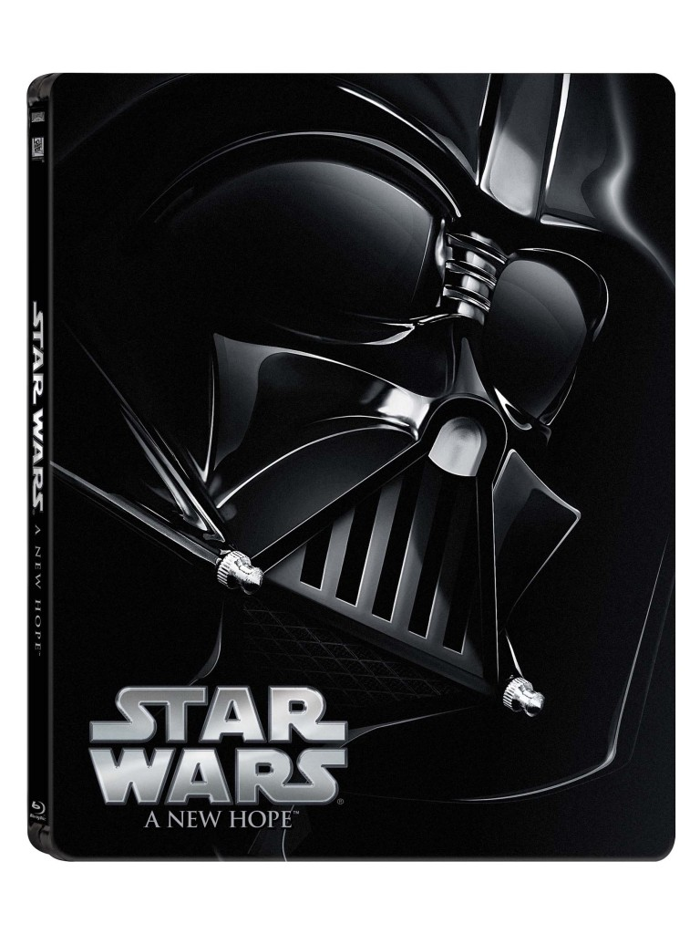Star Wars Blu-Ray - Darth Vader cover