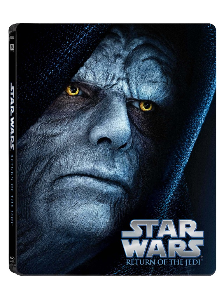 Star Wars Blue-ray - Emperor Palpatine cover