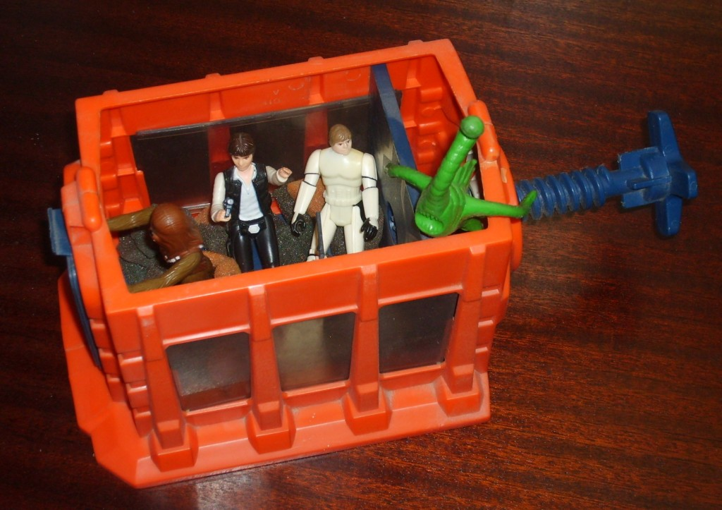 Kenner Death Star playset - trash compactor