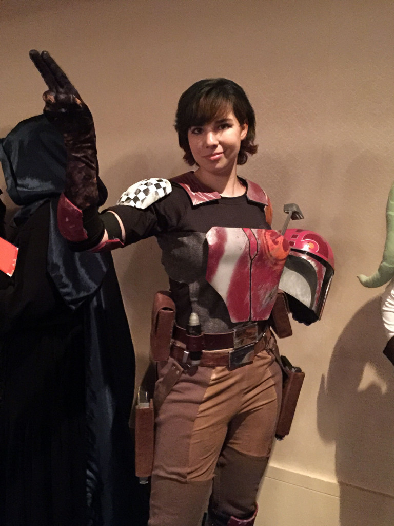 Sabine costumer at Dragon Con
