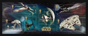 Star Wars vehicles stamp