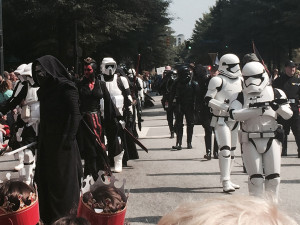 Dragon Con 2015 - Kylo Ren and Imperial troops