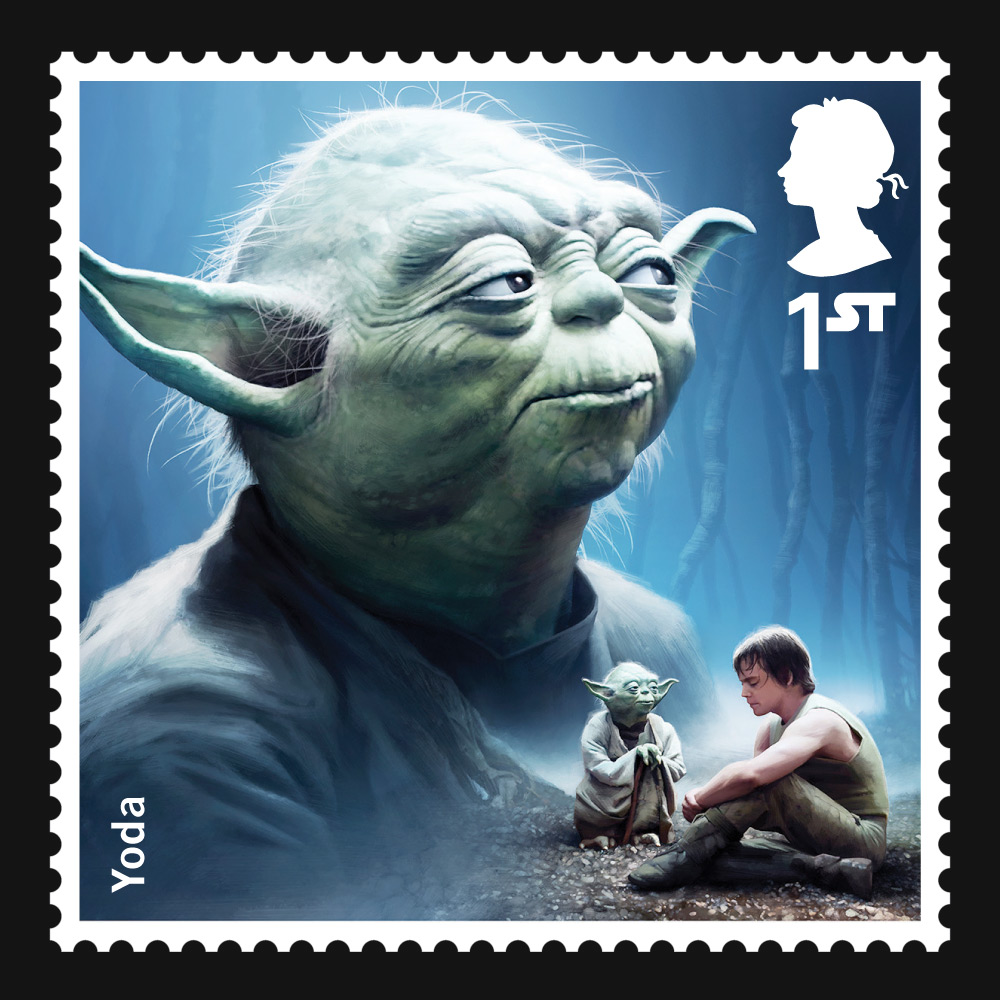 Force-Powered Mail: Star Wars Stamps Coming to the UK