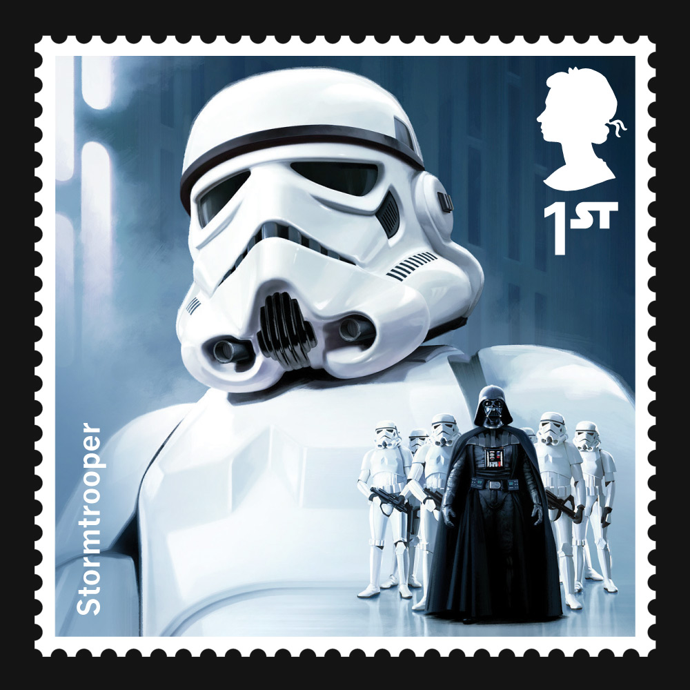 Force Powered Mail Star Wars Stamps Coming To The UK