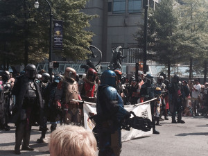 Dragon Con 2015 - Mandalorian Mercs