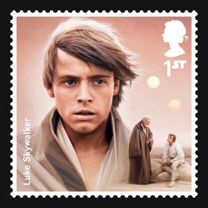 Luke Skywalker stamp