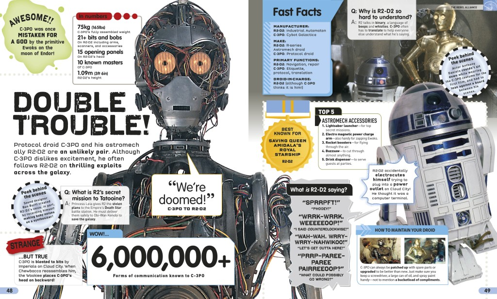 Star Wars: Absolutely Everything You Need to Know - Threepio and droids