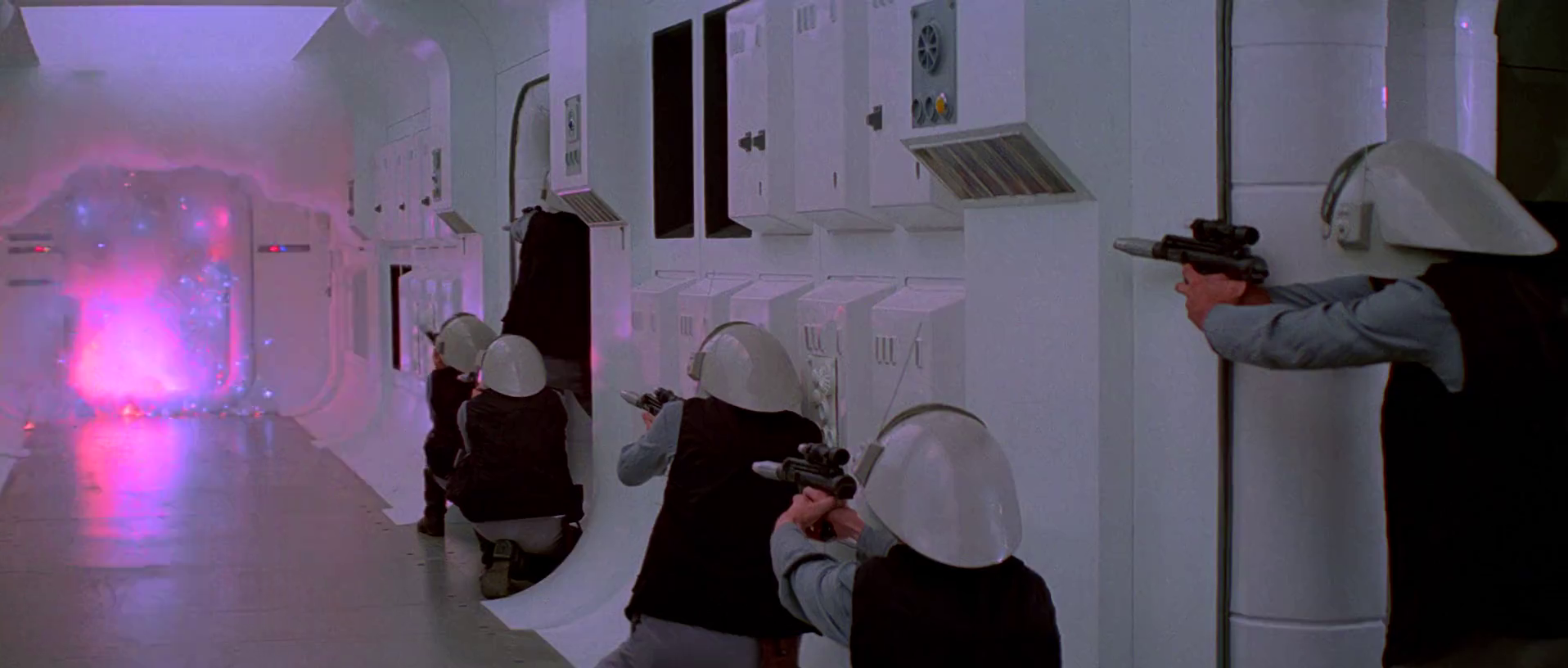 stormtroopers cut through door