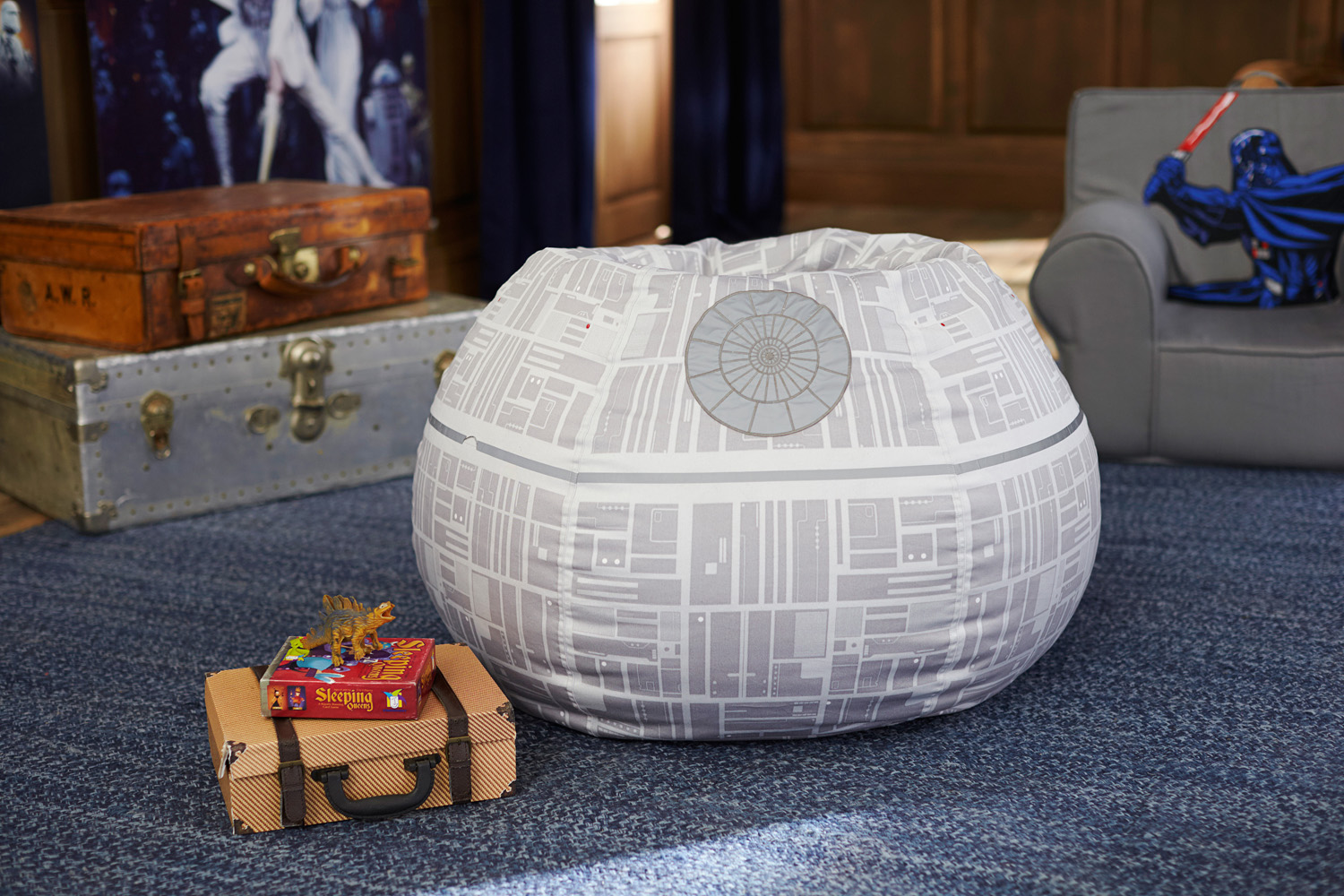 Pottery Barn Death Star beanbag chair & Pottery Barn Star Wars Collection - Preview! | StarWars.com