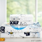Pottery Barn Millennium Falcon sheeting