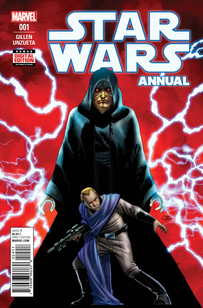 Star Wars Annual #1 cover