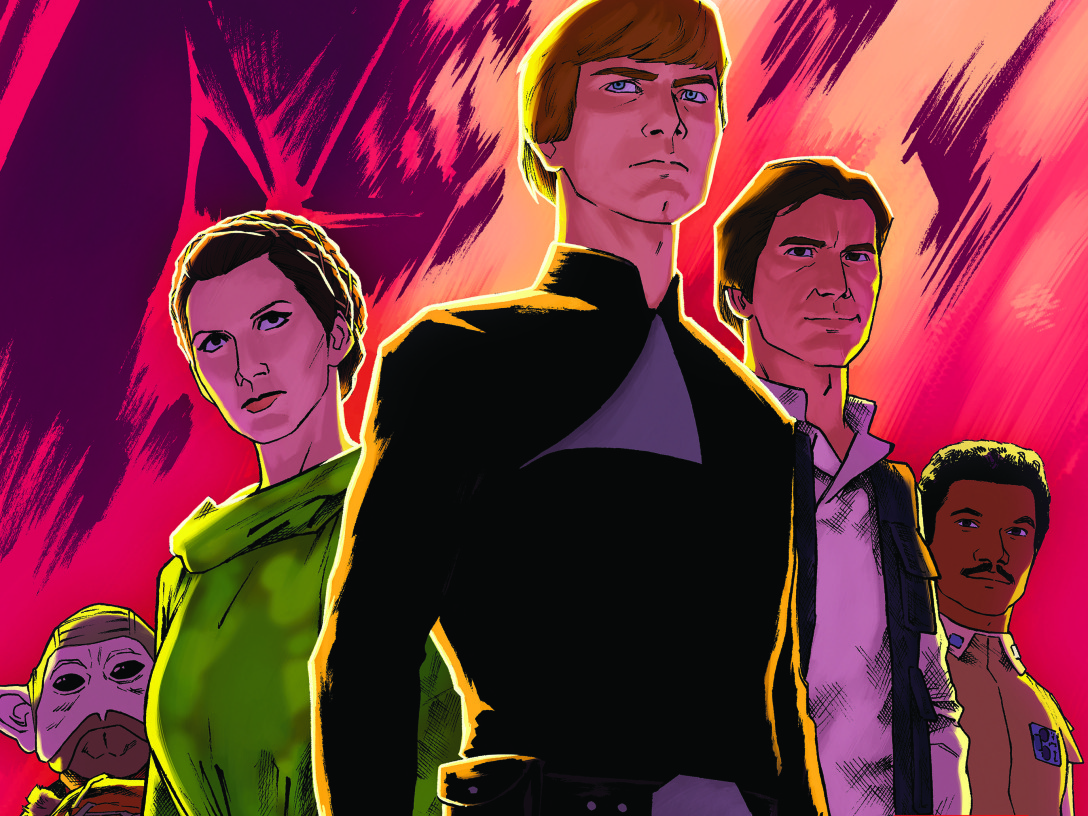 Star Wars Shattered Empire #2 cover