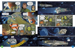 Star Wars Rebels magazine comic series