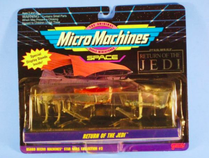 Micro Machines sail barge