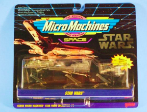 Micro Machines starships