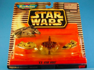 Micro Machines Millennium Falcon