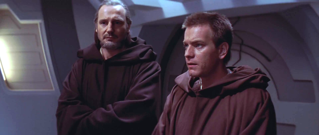 Obi-Wan and Qui-Gon