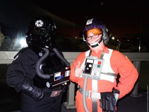 Long Beach Aquarium Night Dive - Rebel and Imperial pilots
