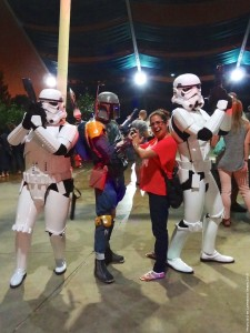 Long Beach Aquarium Night Dive - Boba Fett and stormtroopers photo-op