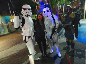Long Beach Aquarium Night Dive - stormtroopers photo-op