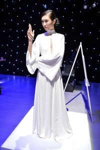 World MasterCard Fashion week - Princess Leia-themed outfit