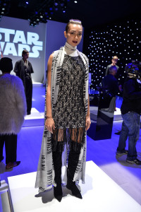 World MasterCard Fashion week -Star Wars outfit
