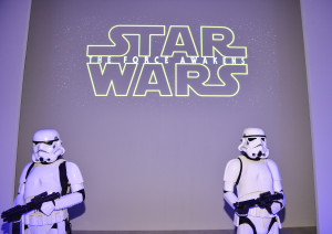 World MasterCard Fashion week - stormtroopers