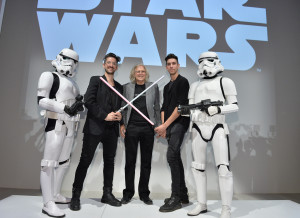 World MasterCard Fashion week - pose with stormtroopers