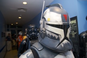 Long Beach Aquarium Night Dive - clone trooper
