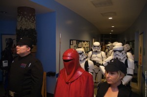 Long Beach Aquarium Night Dive - stormtroopers and Imperial guard