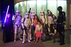 Long Beach Aquarium Night Dive - stormtrooper photo-op