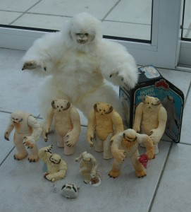 Wampa figures in different sizes
