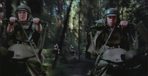 Return of the Jedi - speeder bike chase