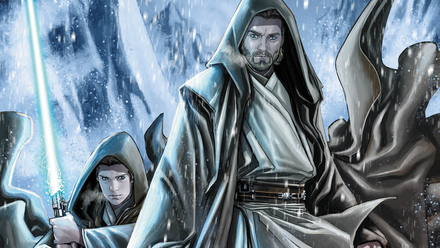 Star Wars: Obi-Wan and Anakin cover