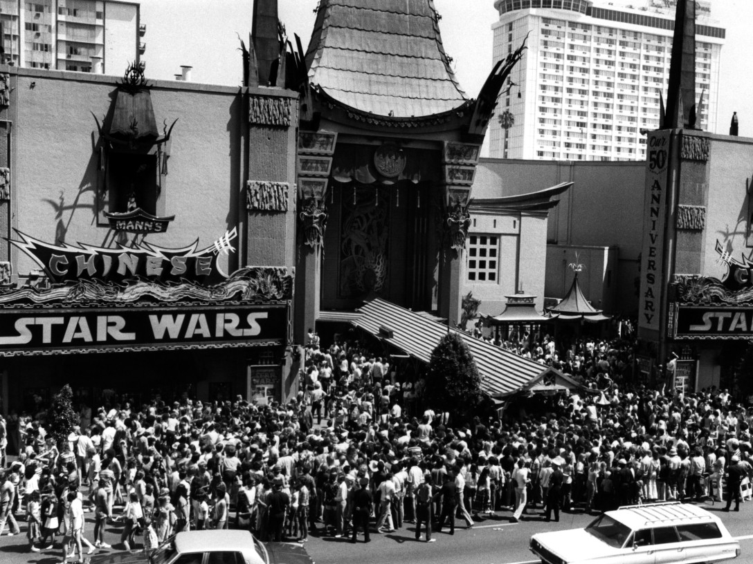 Star Wars at Grauman's Chinese Theater