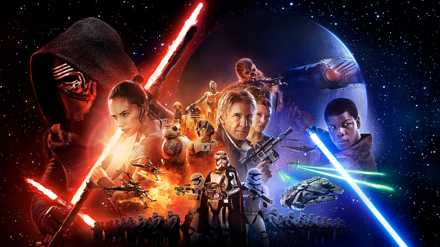 Perfect Star Wars: The Force Awakens Theatrical Poster First Look, In Theater  Exclusives And More | StarWars.com