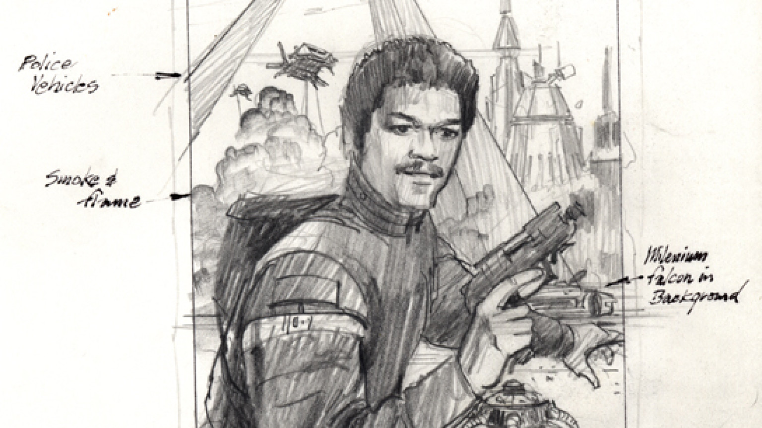 McQuarrie - Lando Book Concept Cover Art