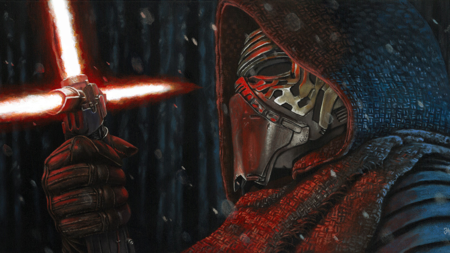 Art Awakens - Kylo Ren by Jeremy P.