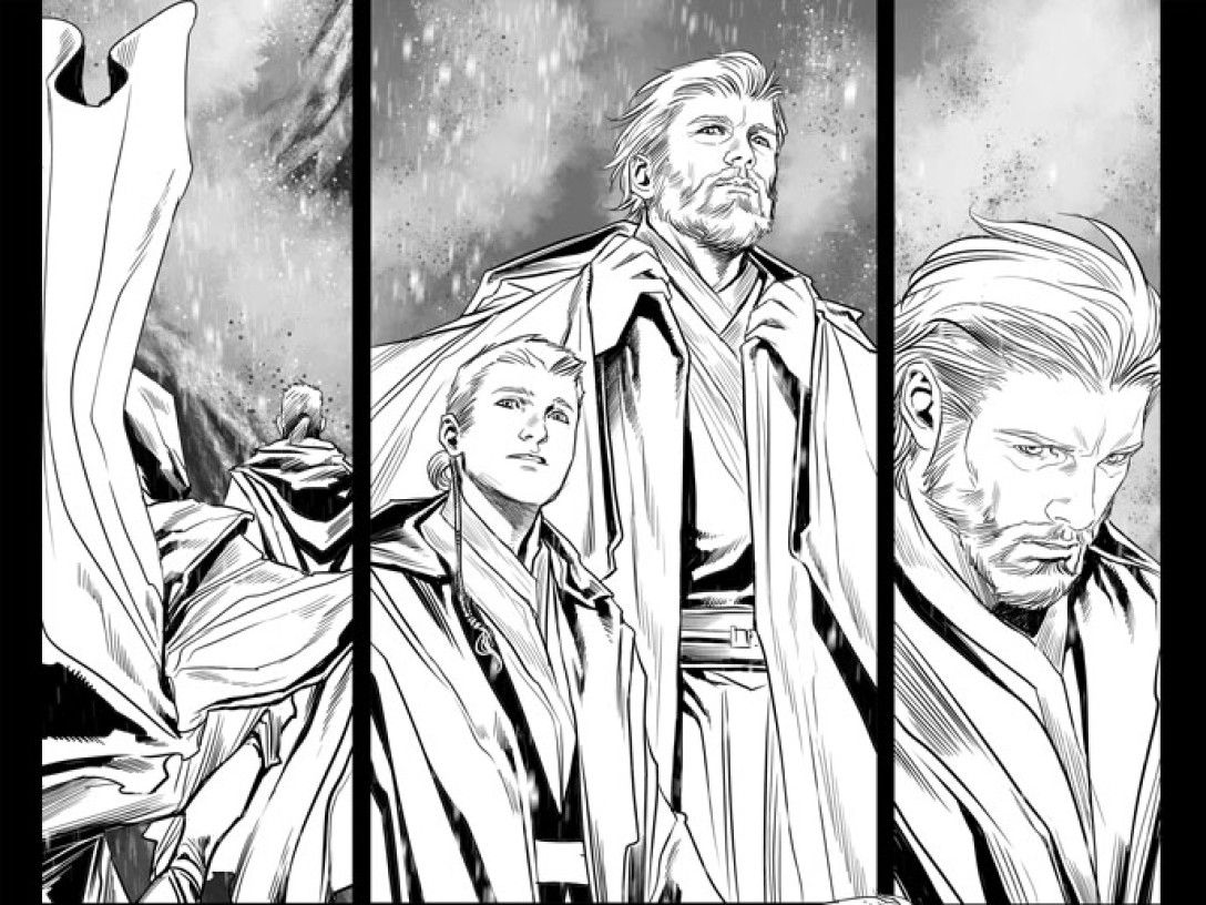 Obi-Wan and Anakin by Marvel